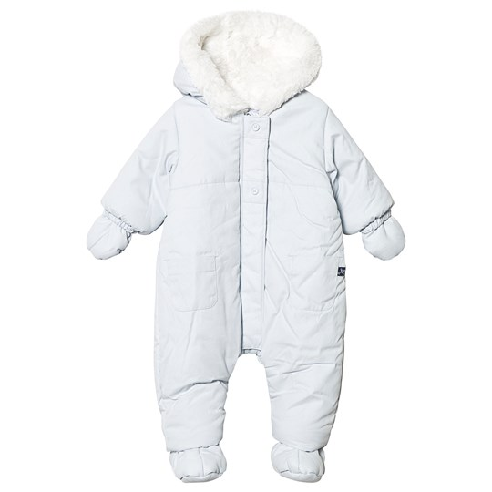 Absorba Faux Fur Lined Coverall Pale Blue 41