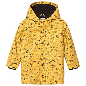 Image of Absorba Dog Print Coat Mustard 6 months (1416912)