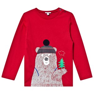 Image of Absorba Forest Bear Tee Red 6 months (1416948)