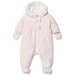 Absorba Faux Fur Lined Coverall Pale Pink