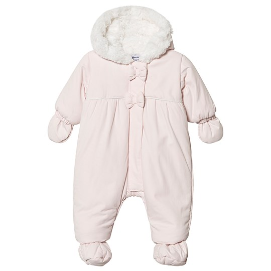 Absorba Faux Fur Lined Coverall Pale Pink 30