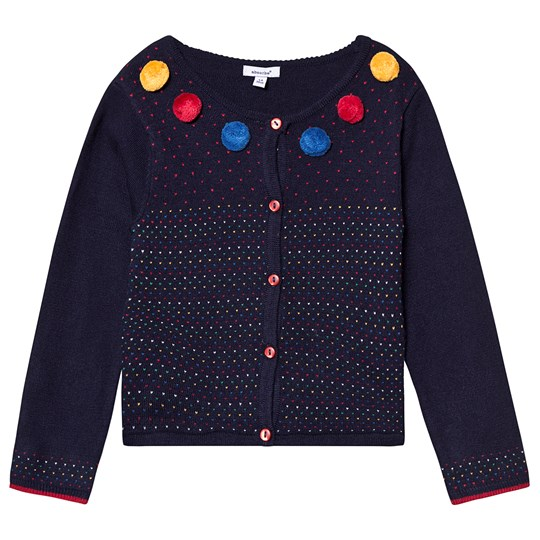 Absorba Pom-Pom Knit Cardigan Navy 04