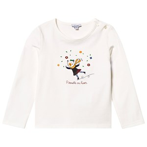Image of Absorba Skating Bear Tee White 9 months (1417034)