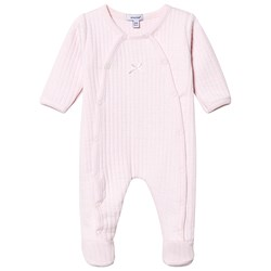 Absorba Quilted Footed Baby Body Pale Pink