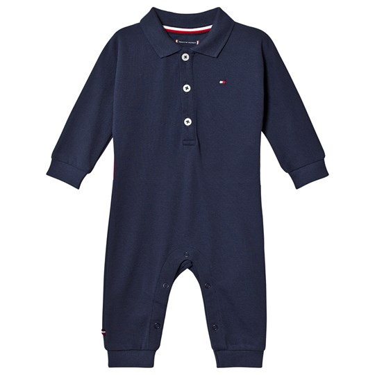 Tommy Hilfiger Logo Polo One-Piece Navy 002