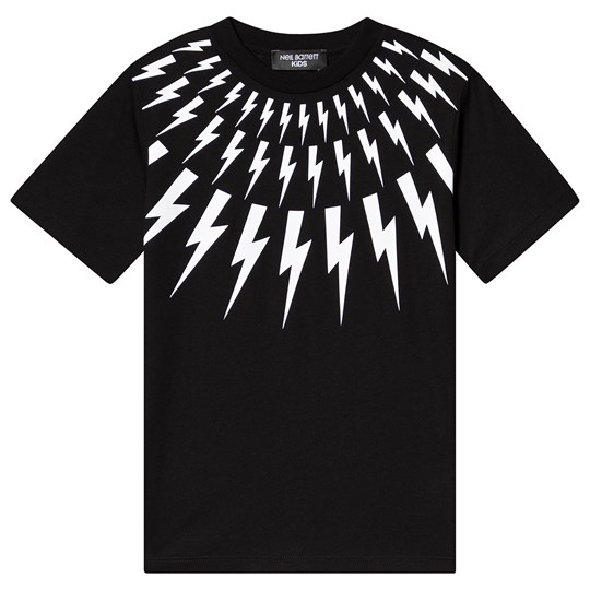 Neil Barrett Lightning Bolt Tee Black 110