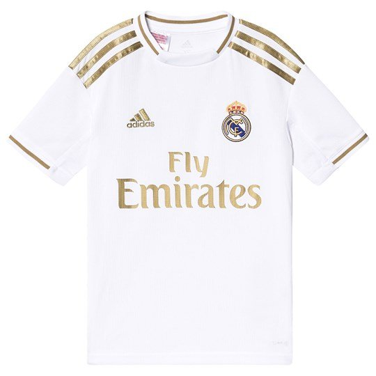 Real Madrid Real Madrid Stadium Fotboll T-Shirt Vit/Guld White