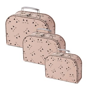 Image of Liewood 3-Pack Poppin Suitcases Cat/Rose One Size (1356984)