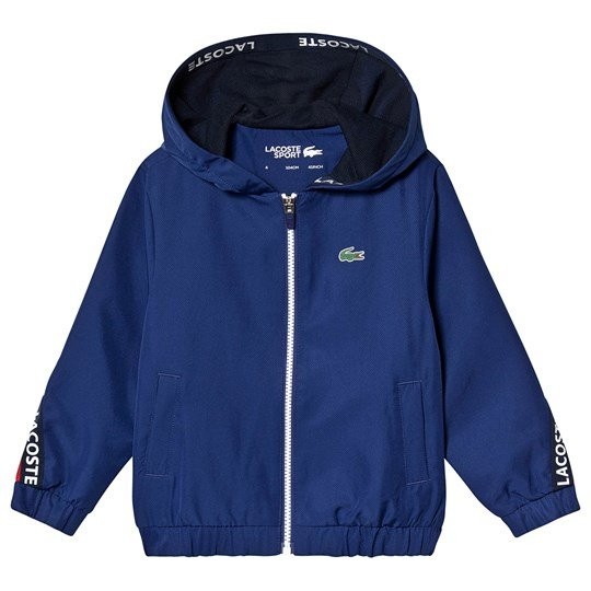 Lacoste Tennis Training Jacket Navy/Red 1LU