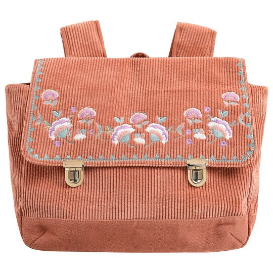 Louise Misha Chedania School Bag Terracotta TERRACOTA