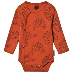 Sproet & Sprout Chameleon Baby Body Orange