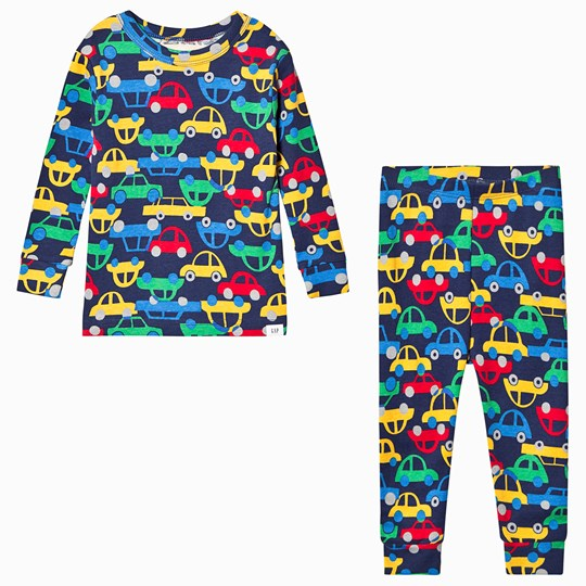 GAP Car Pajamas Navy COMET BLUE
