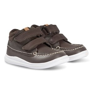 Image of Clarks Cloud Tuktu Sneakers Brown Leather 29 (UK 11) (1371621)