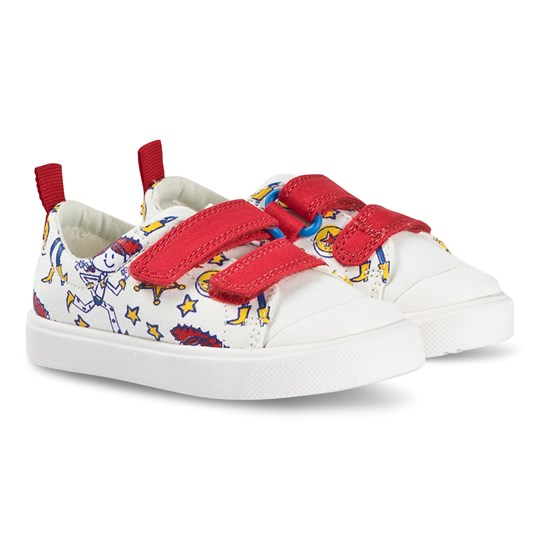 Clarks Toy Story City Team Sneakers Vit White