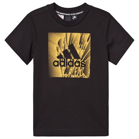adidas Performance Box Logo T-Shirt Black Black