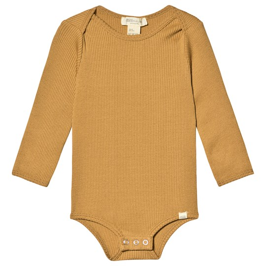 minimalisma Bono Baby Body Golden Leaf Golden Leaf