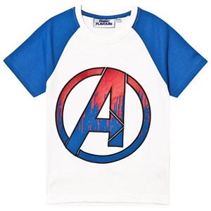 Image of Fabric Flavours Avengers Endgame T-shirt White/Blue 5-6 years (1367836)