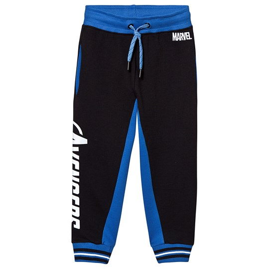 Fabric Flavours Reflective Avengers Logo Sweatpants Black Black