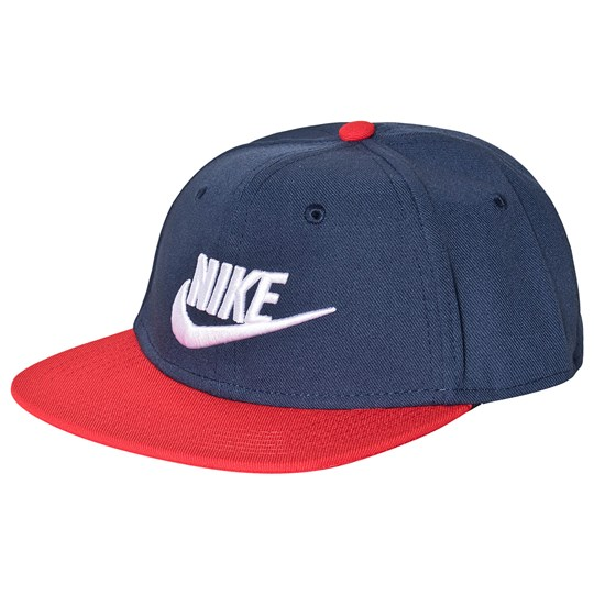 best selling details for super cute Pro Futura Cap Navy/Red