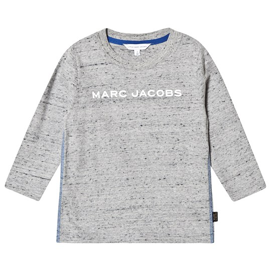 Little Marc Jacobs Logo Long Sleeve Tee Grey A22