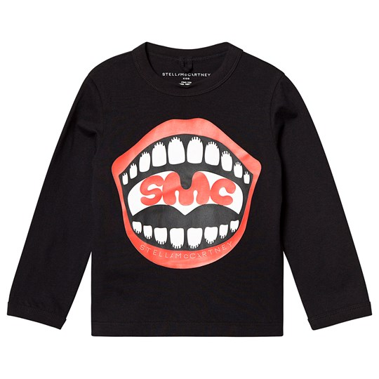 Stella McCartney Kids SMC Smiles Sweatshirt Sort 1073