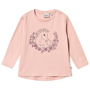 Image of Wheat T-shirt Foal Misty Rose 104 cm (3-4 år) (1416519)