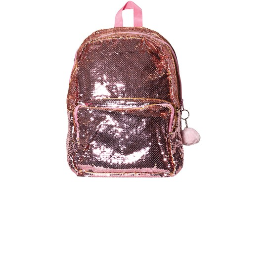 YouGo Sequence Large Backpack Pink/Gold Pink/Gold