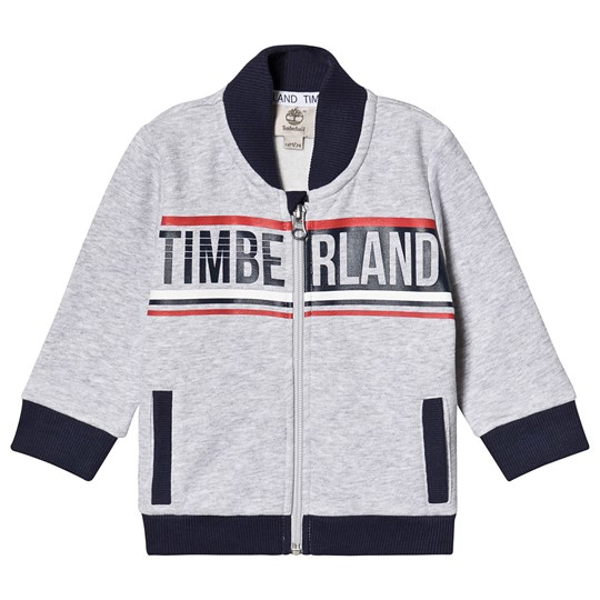 Timberland Fleece Cardigan Grey A32