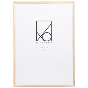 Image of XO Posters Frame Wood 50x70 cm Oak One Size (1348586)