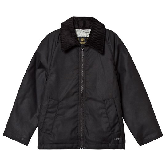 Barbour Winter Munro Wax Jacket Black Black