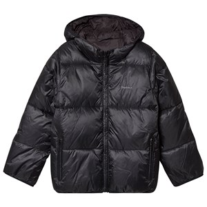 Bilde av Barbour Black Ross Hodded Padded Coat L (10-11 Years)