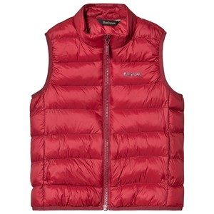 Bilde av Barbour Bretby Gilet Red L (10-11 Years)