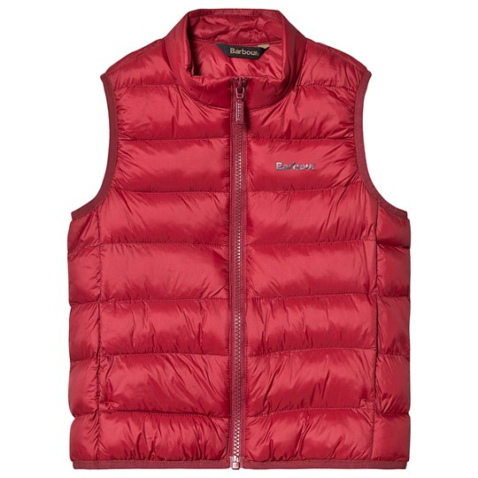 Barbour Bretby Gilet Red Biking Red