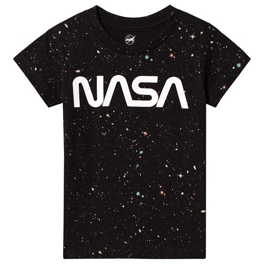 Eleven Paris NASA Galaxy T-shirt Svart M06