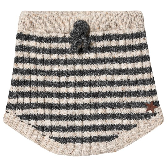 Tocoto Vintage Knitted Striped Bloomers Beige Beige