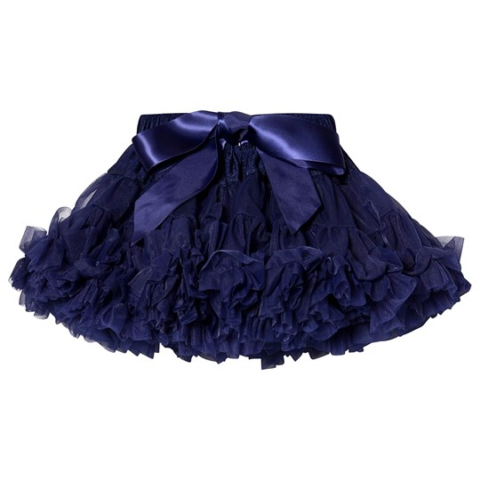 DOLLY by Le Petit Tom Snow Queen Pettiskirt Navy Marinblå