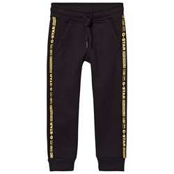 G-STAR RAW Logo Tape Sweatpants Black
