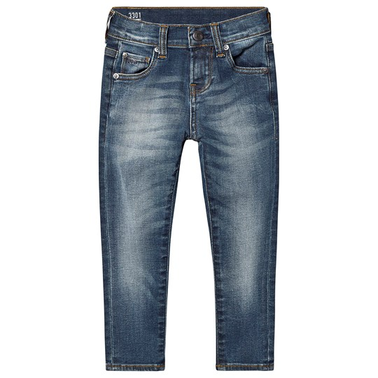 G-STAR RAW Mid Wash 3301 Tapered Jeans 46