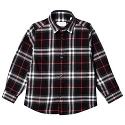 Burberry Check Fredrick Flannel Shirt Black