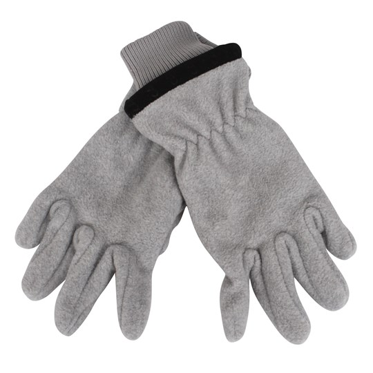 Reima Tollense Gloves Lt Grey Melange Black