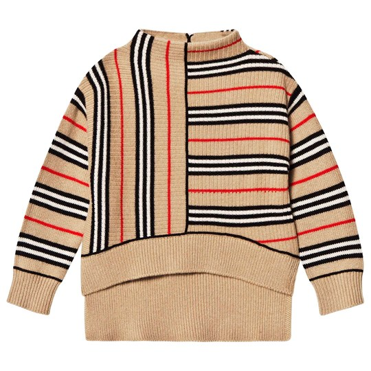 Burberry Stripe Jumper Archive Beige/Red ARCHIVE BEIGE