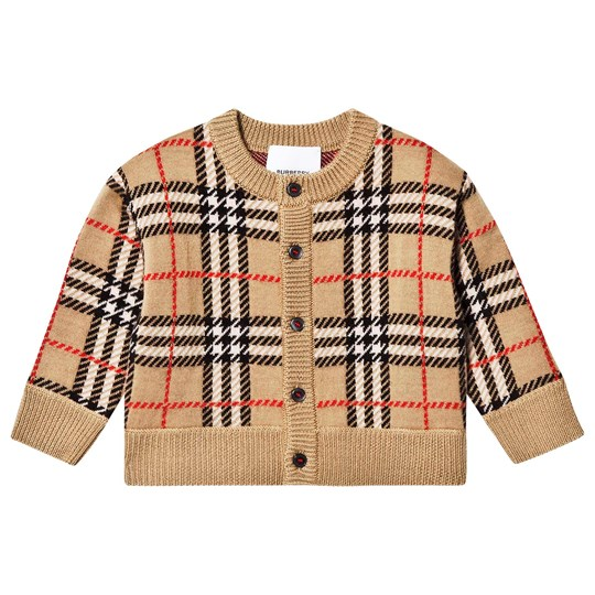 Burberry Check Edie Cardigan Archive Beige ARCHIVE BEIGE