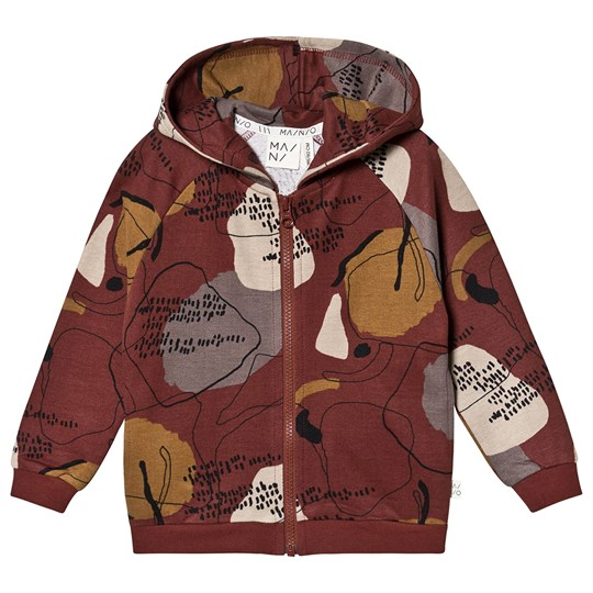 MAINIO Windfall Hoodie Deep Red Multicolour