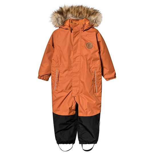 Kuling Chamonix Coverall Autumn Orange