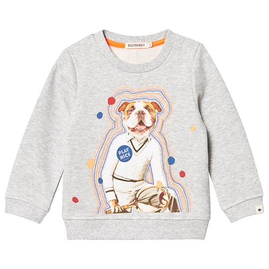 Billybandit Tennis Dog Sweatshirt Grey A07