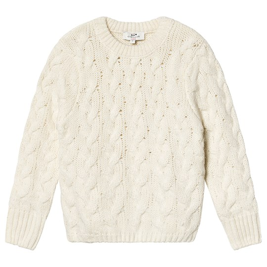 Cyrillus Cerise Sweater Cream Ecru