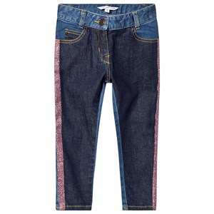 Image of The Marc Jacobs Contrast Glitter Denim Jeans Blå 2 years (1388680)