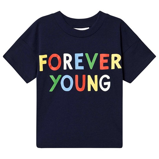 Mini Rodini Forever Young T-shirt Navy Navy