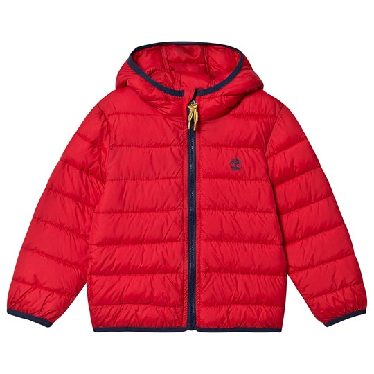 Timberland Packable Puffer Jacket Red 970