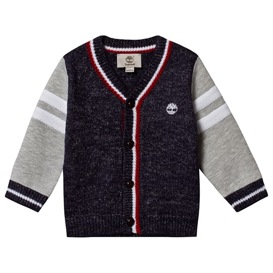 Timberland Tree Knit Cardigan Navy/Grey 85T